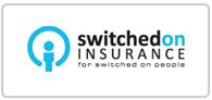 15% off Switched On Insurance Logo