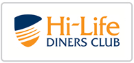 Save up to £50 on the 2 for 1 Hi-Life Dining Card Logo