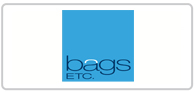 20% off at Bags ETC and Domo Logo