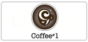 10% off food & drink at Coffee#1 Logo