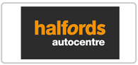 Save on MOT's and servicing at Halfords Autocentre Logo